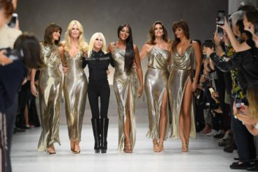 Donatella Versace - Milano Fashion Week - 2018